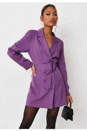 Missguided Women Blazers - Petite Belted Blazer Dress