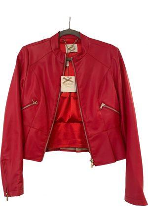 Fracomina Leather short vest