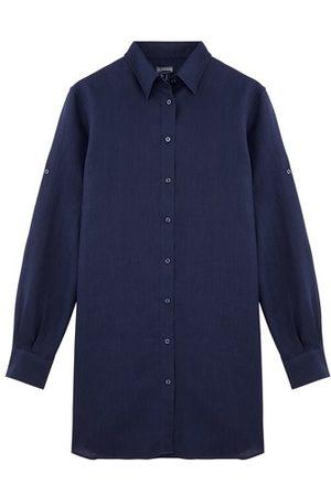 Vilebrequin Women Casual Dresses - Long Linen Shirt Solid