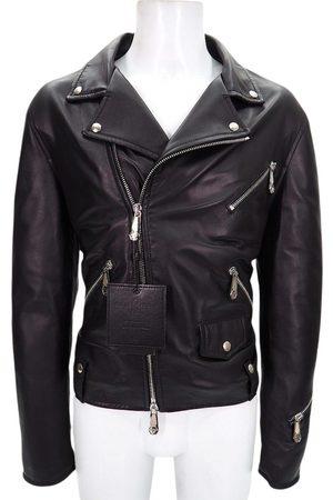 Philipp Plein Men Gilets - Leather vest
