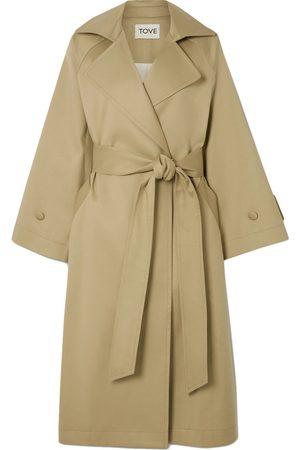 TOVE Women Trench Coats - Ava Cotton-Twill Trench Coat