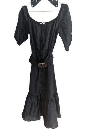 UTERQUE Linen maxi dress