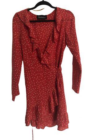 REALISATION Alexandra silk mini dress