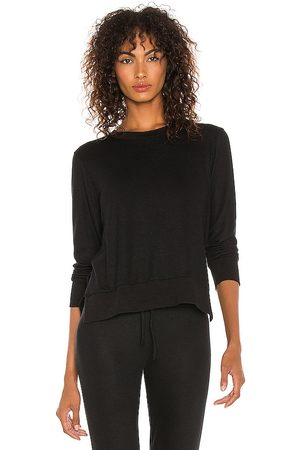 Beyond Yoga Just Chillin Long Sleeve Pullover in .