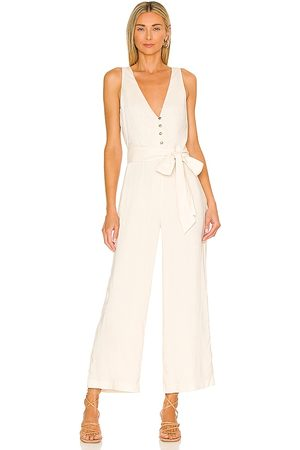 MAJORELLE Melodie Jumpsuit in Ivory.