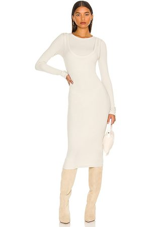 The Line By K Abdiel Dress in Neutral.