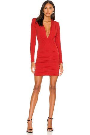 Nookie Temptation Long Sleeve Mini Dress in .