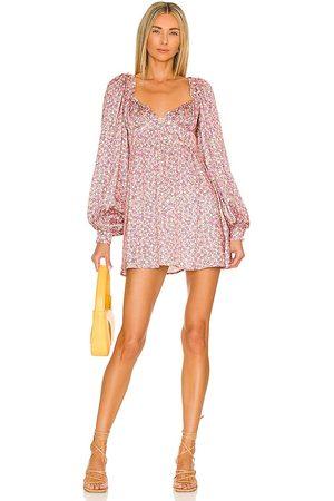 For Love & Lemons Laurie Mini Dress in .