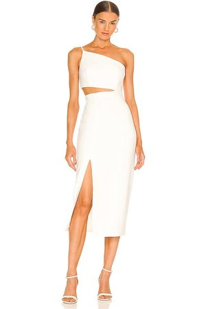 Cinq A Sept Laurile Dress in Ivory.