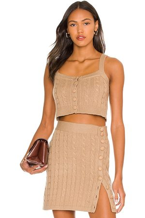 JoosTricot Camisole in Tan.