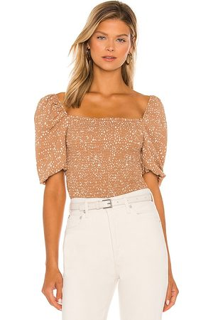 Steve Madden #1 Fawn Top in Nude.