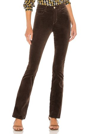 L'Agence Stevie High Rise Straight Pant in .