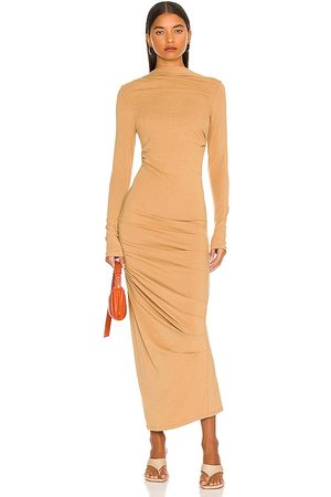 The Line By K Asher Dress in Tan.