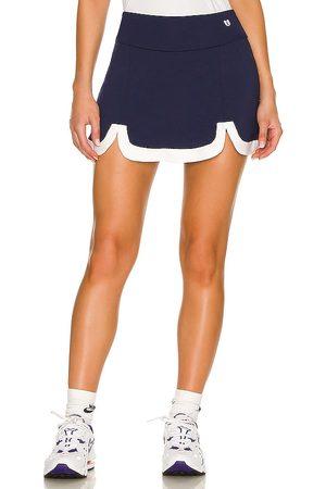 Venus Williams Swing Birdie Skirt in Navy.