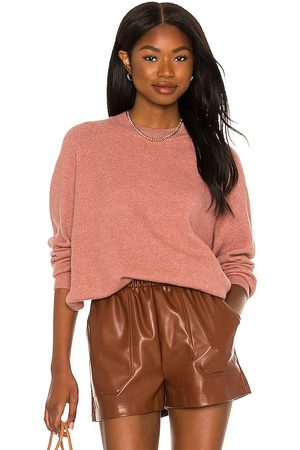 Steve Madden Learning Curve Sweater in Rose.