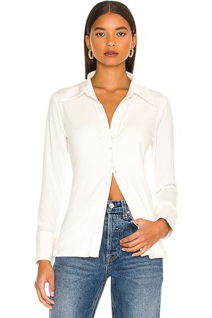 The Line By K Spazzi Top in Ivory.