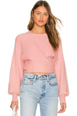 JoosTricot Ballet Sweater in Blush.