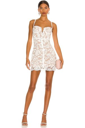 For Love & Lemons Jillian Mini Dress in .