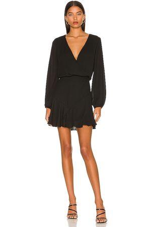 krisa Asymmetrical Skirt Dress in .