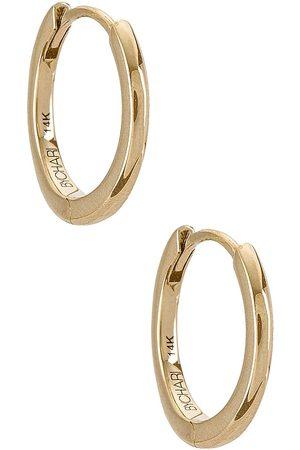 BYCHARI Huggies Set in Metallic Gold.