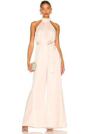 Lovers and Friends Hayes Jumpsuit in Neutral.