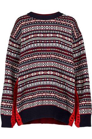 JUNYA WATANABE Intarsia-knit wool sweater
