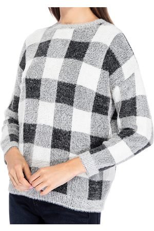 Bobeau Buffalo Plaid Sweater