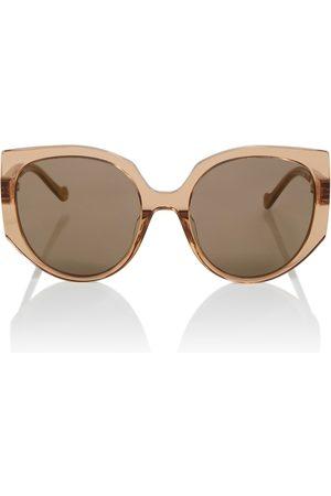 Loewe Logo-detailed round sunglasses