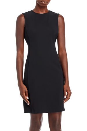 THEORY Precision Ponte Fitted Shift Dress