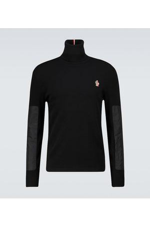 Moncler Wool-blend turtleneck sweater