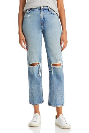 Hudson Remi High Rise Straight Jeans in Time to Time