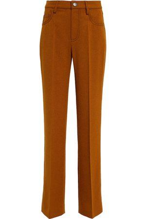 Nanushka Basma felted straight pants
