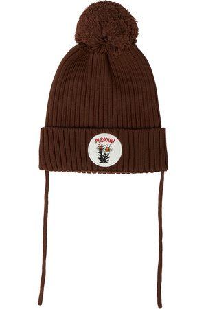 Mini Rodini Edelweiss pom pom hat