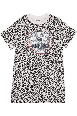 Kenzo Tiger leopard printed dress