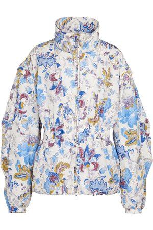 Isabel Marant Dastya convertible floral raincoat