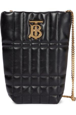 Burberry Lola Micro leather bucket bag