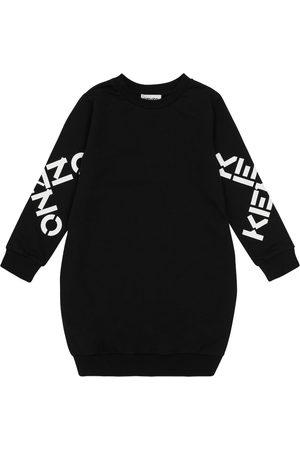 Kenzo Logo cotton sweatshirt dress