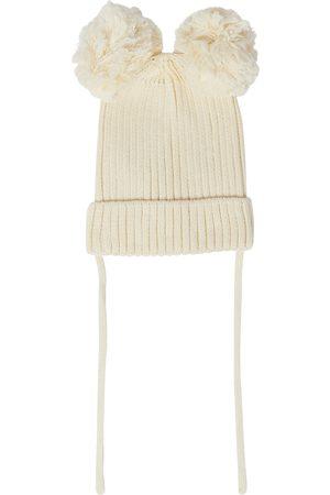 Mini Rodini Ribbed-knit beanie