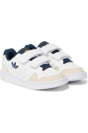 adidas NY 90 faux leather sneakers