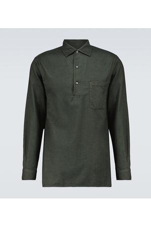Loro Piana André long-sleeved cotton shirt