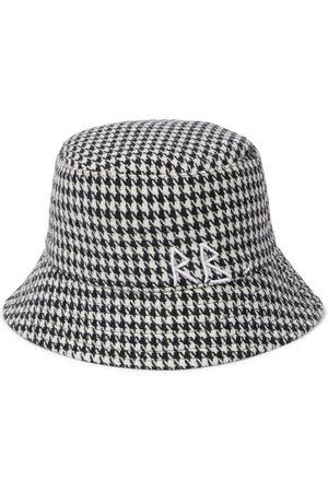 Ruslan Baginskiy Houndstooth cotton-blend bucket hat