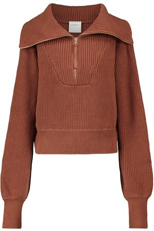 Varley Mentone ribbed-knit cotton sweater