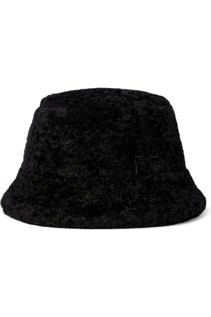 Ruslan Baginskiy Faux shearling bucket hat