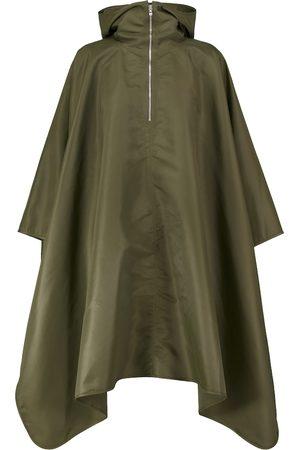 Totême Hooded asymmetric poncho