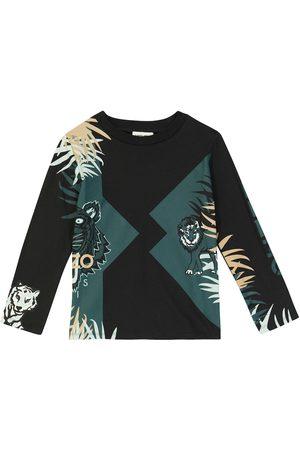 Kenzo Long-sleeved cotton T-shirt