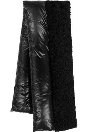 Moncler Fleece and nylon down scarf