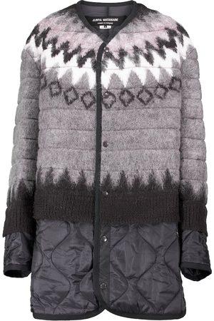 JUNYA WATANABE Layered wool and puffer coat