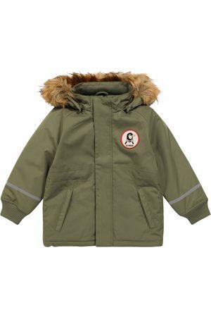 Mini Rodini Jackets - Explorer K2 faux fur-trimmed coat