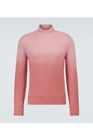 Tom Ford Men Turtlenecks - Cashmere-blend turtleneck sweater