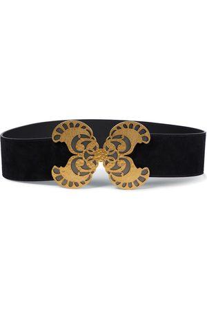 Saint Laurent Women Belts - Suede belt